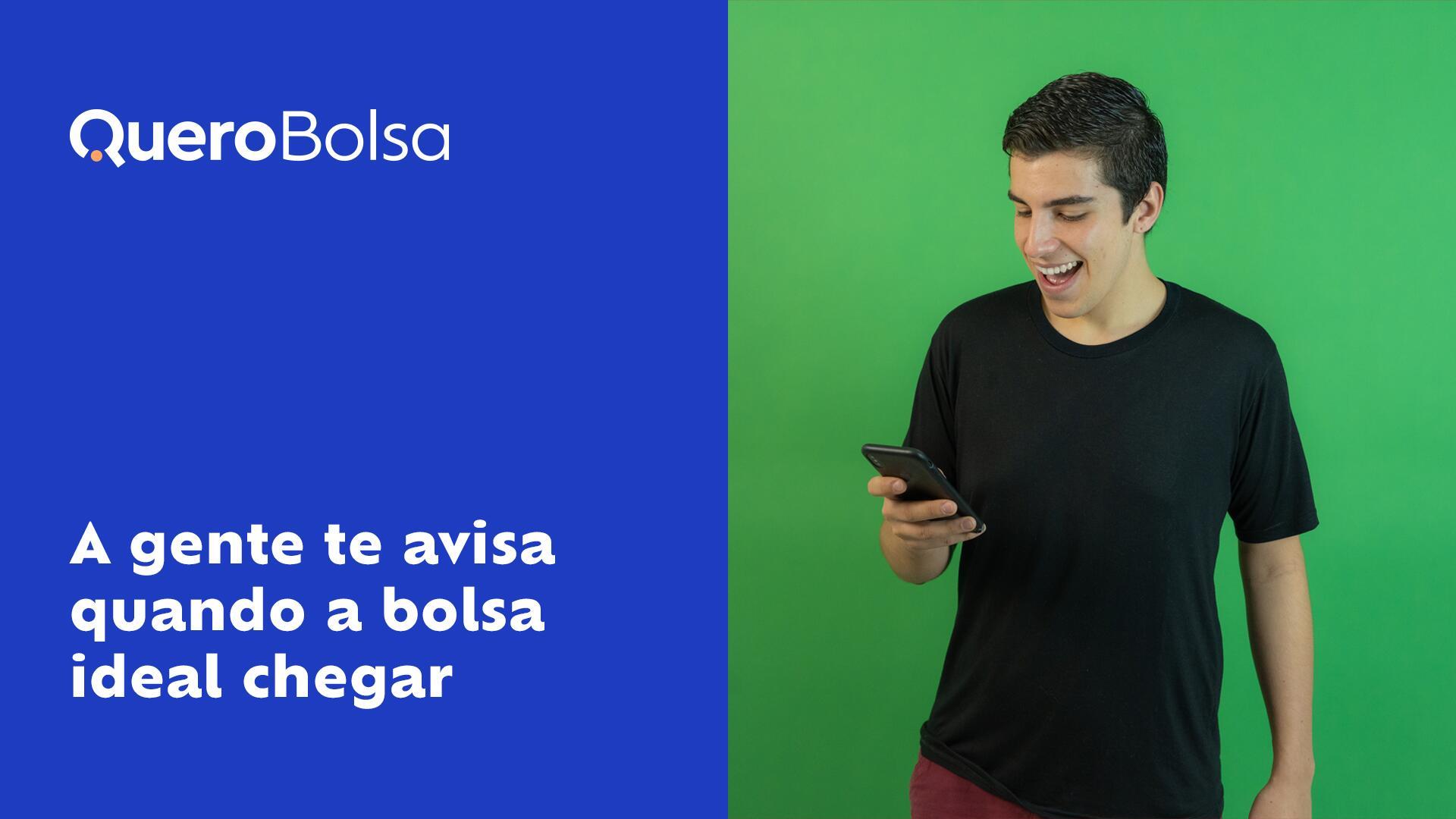 Como funciona o aplicativo do Quero Bolsa?